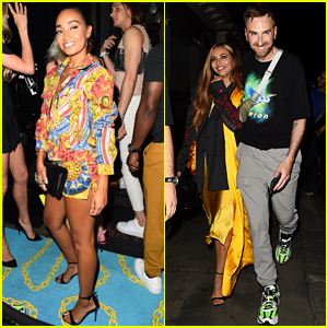 Leigh-Anne Pinnock & Jade Thirlwall Party in London!