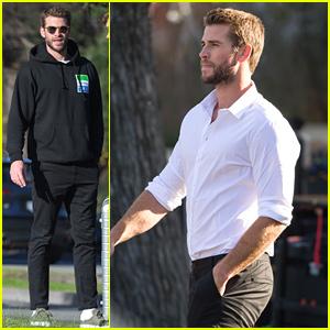 Liam Hemsworth Films New Commercial In Australia