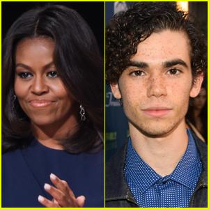 Michelle Obama Remembers Cameron Boyce's 'Incredible Heart'