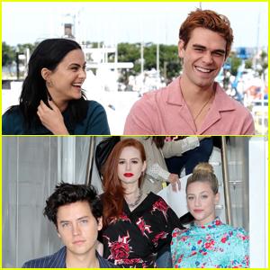 The Stars of 'Riverdale' Promote Season 4 at Comic-Con 2019!