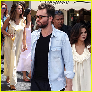 Selena Gomez Spends Time With Producer Andrea Iervolino Out in Capri, Italy