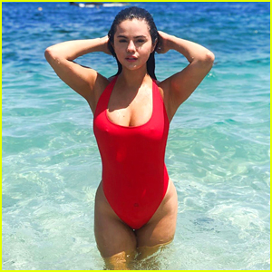 Selena Gomez's Red Swimsuit Is Your Affordable Summer Suit!