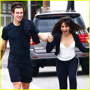 Shawn Mendes & Camila Cabello Hold Hands After a Brunch Date!