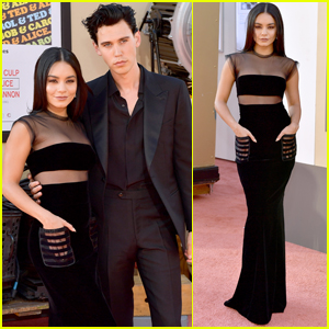 Vanessa Hudgens & Austin Butler Couple Up at 'Once Upon a Time in Hollywood' Premiere