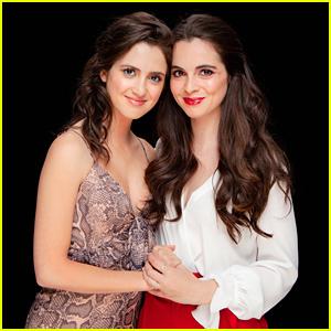 Laura & Vanessa Marano Promote New Movie 'Saving Zoe' in NYC