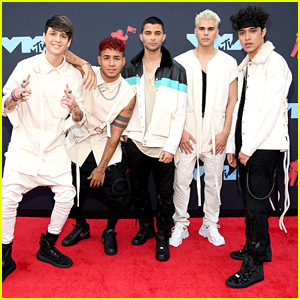 CNCO Hit The Red Carpet For The MTV VMAs 2019!