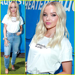 Dove Cameron Makes a Statement With Her 'Angry Birds Movie 2' Premiere Outfit
