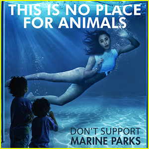 Eva Gutowski Urges Fans Not To Go To Marine Parks In New PETA Ad
