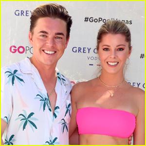 Jesse McCartney & Girlfriend Katie Peterson Hang Poolside in Las Vegas