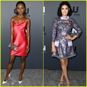 Ashleigh Murray & Lucy Hale Join 'Katy Keene' Co-Stars at CW's Summer TCA Party