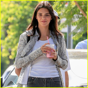 Kendall Jenner Enjoys a Day with Friends in WeHo