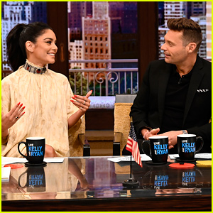 Vanessa Hudgens Gushes About Austin Butler's New Elvis Role While Co-Hosting 'Live! With Kelly & Ryan'