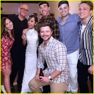 Allisyn Ashley Arm Hosts 'So Random!' Reunion at Her Wedding!