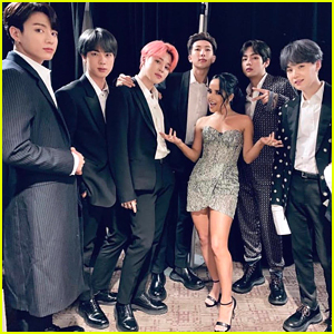 Are Becky G & BTS Getting Ready to Drop A Collab?!