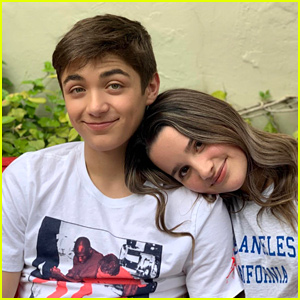 Asher Angel & Annie LeBlanc Go Behind-the-Scenes at D23 - Watch!