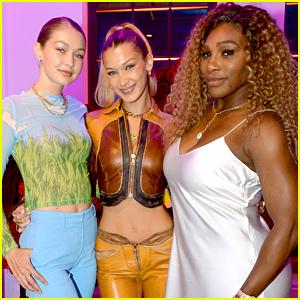 Bella & Gigi Hadid Celebrate YouTube Fashion Launch in NYC