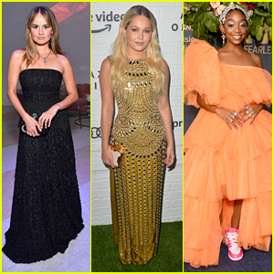 Debby Ryan, Kelli Berglund & Eris Baker Celebrate The Emmys At The After Parties