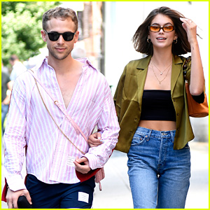 Kaia Gerber Hangs With Tommy Dorfman on 18th Birthday