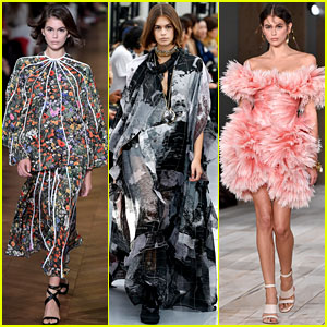Kaia Gerber Is Basically the Busiest Model at Paris Fashion Week!