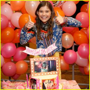 'All That's Kate Godfrey Celebrates Her Sweet 16 With Cast Mates!