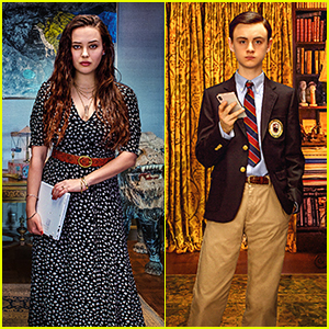Katherine Langford & Jaeden Martell Give Sneak Peek At 'Knives Out' Characters On New Posters