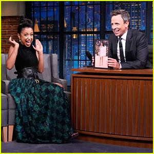Liza Koshy Talks Getting Her Dad's Internet Approval On 'Late Night with Seth Meyers'