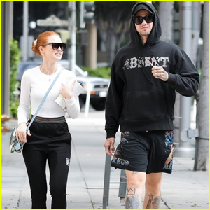 Madelaine Petsch & Travis Mills Couple Up for Afternoon Outing in LA
