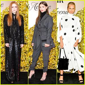 Sadie Sink & Natalia Dyer Step Out For Vanity Fair's Best Dressed List Party
