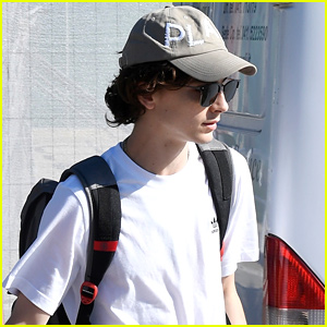 Timothee Chalamet Prepares To Leave Venice After 'The King' Premiere