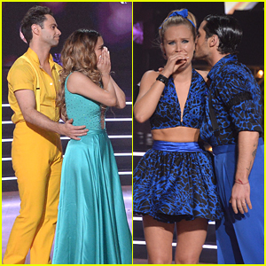 Ally Brooke & Sailor Brinkley-Cook React to Shocking 'Dancing With The Stars' Elimination