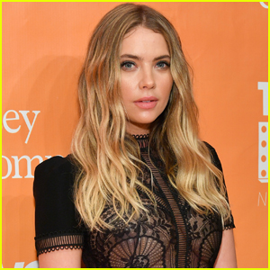 Ashley Benson Switches Up Her Blonde Hair!