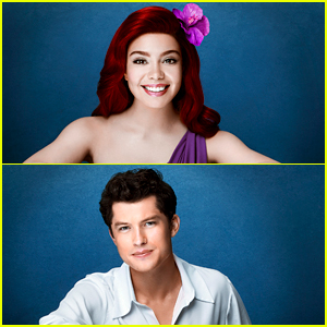 See Auli'i Cravalaho & Graham Phillips as Ariel & Prince Eric In New 'The Little Mermaid Live' Promo Pics!