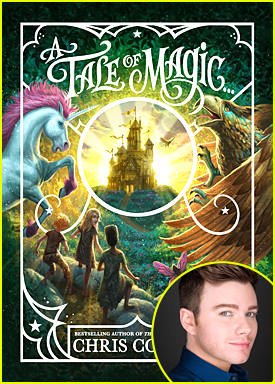 Chris Colfer's New Book 'A Tale of Magic' Is A Gift For His Fans