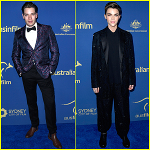 Dominic Sherwood & Ruby Rose Suit Up For Australians In Film Awards 2019