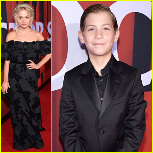 Emily Alyn Lind & Jacob Tremblay Step Out For 'Doctor Sleep' Premiere