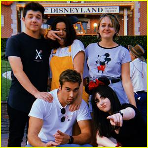 The 'I Didn't Do It' Cast Had a Reunion at Disneyland!