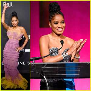 Keke Palmer Looks Amazing In Two Different Looks at Angel Ball 2019
