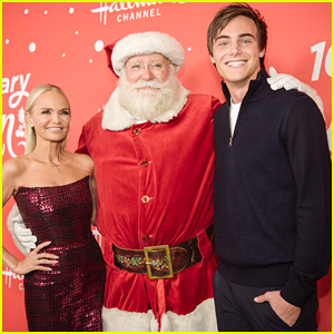 Kevin Quinn Steps Out For 'A Christmas Love Story' Premiere Event