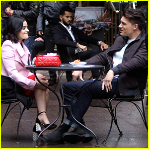 Lucy Hale & Zane Holtz Go On Lunch Date For 'Katy Keene' After New Casting Announced