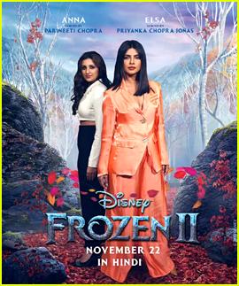 Priyanka Chopra Is Queen Elsa - for 'Frozen 2' Hindi Version!