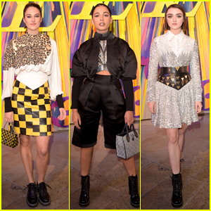 Shailene Woodley, Naomi Scott, & Maisie Williams Step Out for Louis Vuitton Reopening in London