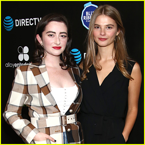 Stefanie Scott & Abby Quinn Attend Special Screening of New Movie 'Good Girls Get High'!