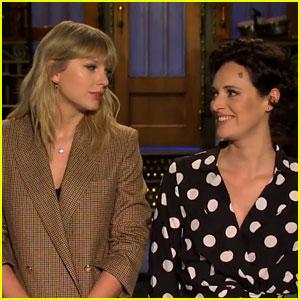 Taylor Swift Recites a British Joke in New 'SNL' Promo