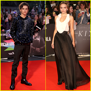 Timothee Chalamet's Sweater Sparkles On The Red Carpet For 'The King' Premiere in London