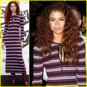 Zendaya Wears a Dress She Helped Design at Event in Italy!
