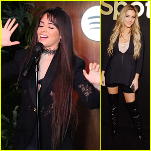 Camila Cabello Performs at Spotify's Celebration of Artists Event