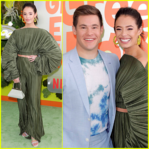 Chloe Bridges Supports Fiance Adam Devine at 'Green Eggs & Ham' Premiere
