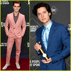 Cole Sprouse Wins TWO Awards at the People's Choice Awards 2019!