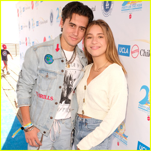 Isaak Presley & Kenzie Ziegler Couple Up For UCLA Mattel Children's Hospital's Party on the Pier