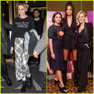 Kristen Stewart & Co-Stars Promote 'Charlie's Angels' in NYC